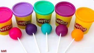 Play Doh fun and learn color from Ishfi