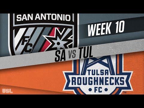 San Antonio FC vs Tulsa Roughnecks FC: May 19, 2018