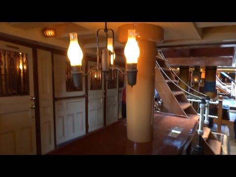 Sailing Ship Columbia tour of deck and crew