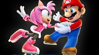 mario vs amy guest stars sonic and shadow play m at the olympic games