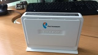 Лучший ADSL модем из тестируемых, тестирование скорости Wi-Fi Tplink TD854W