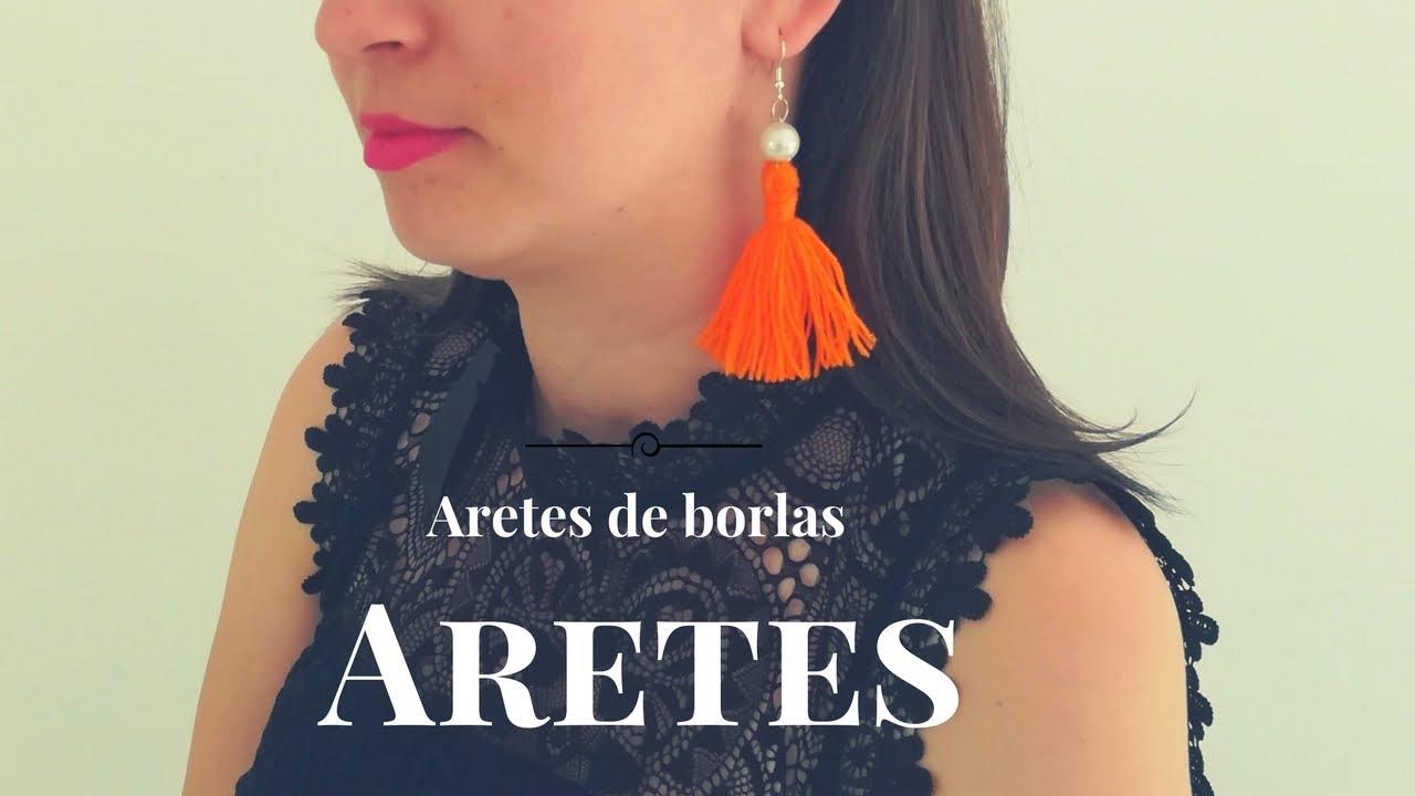 f1d7f08255cc Pendientes   Aretes de moda con borlas  FASHION EARRINGS  - YouTube