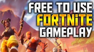 Free To Use FORTNITE Gameplay | 720P 60FPS SOLO'S