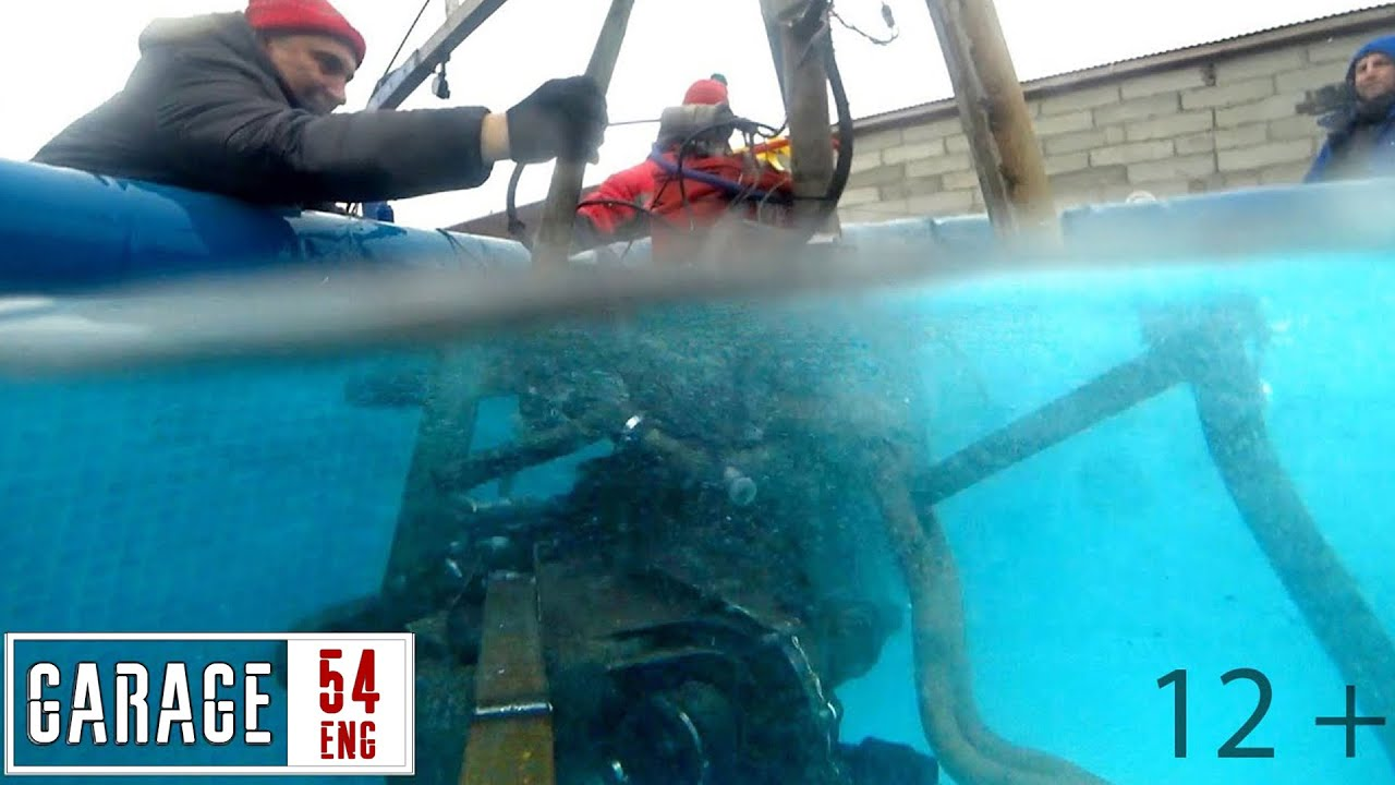 How long will a car engine work underwater?