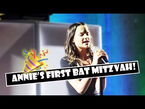 Annie's First Bat Mitzvah 🎉 (WK 382.4) | Bratayley