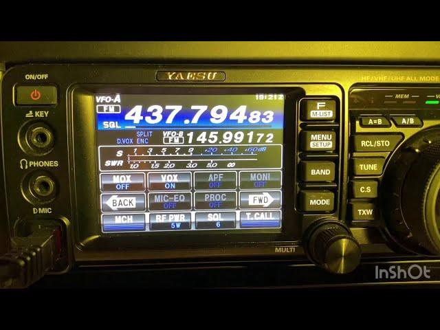 Q&D - Auto-QRG für ISS-Repeater mit GPredict