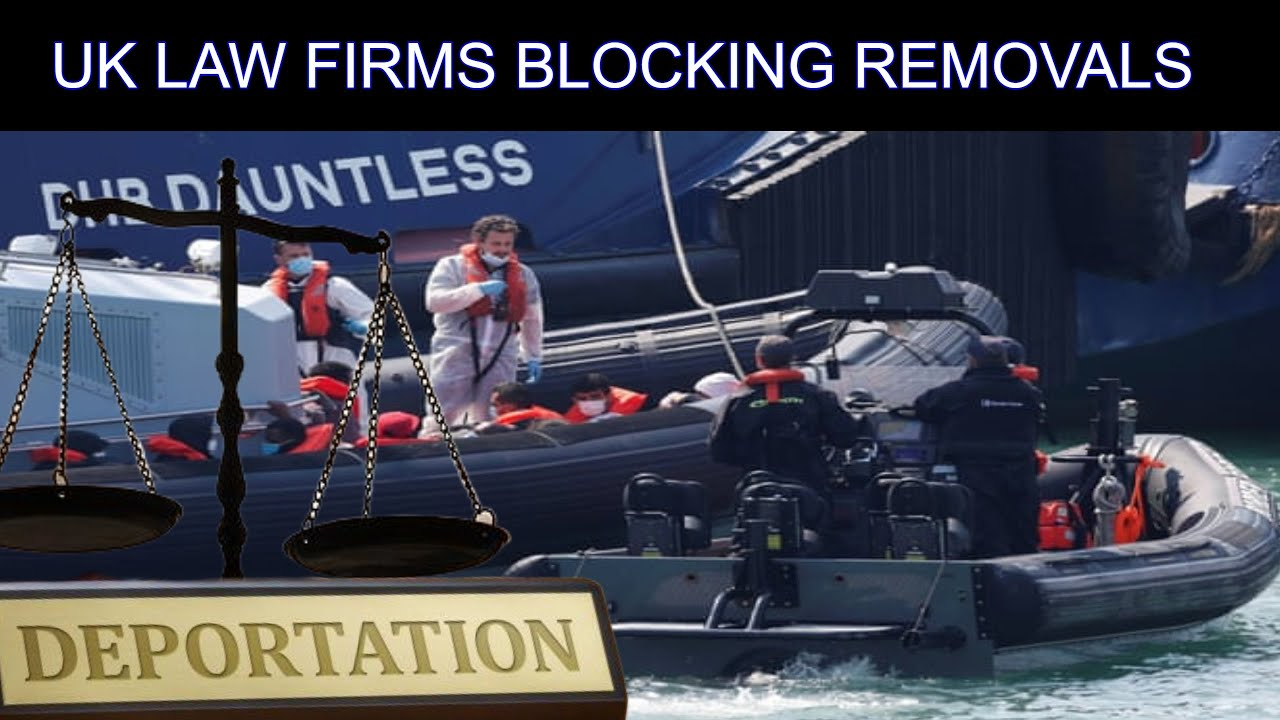 Boat Criminals Deportation Charter Flight Blocked By Parasitic Law Firms Legal Challenge