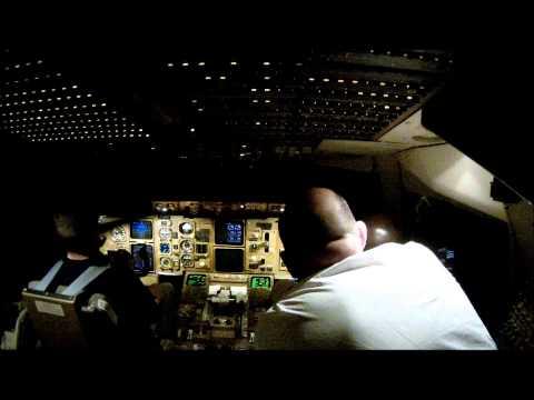 Landing at New York JFK