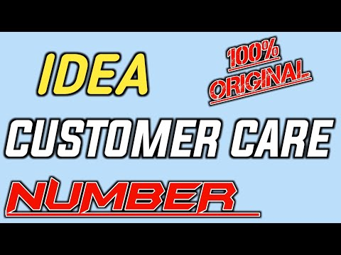 Idea Customer Care Number 2019 | Idea Helpline Number INDIA
