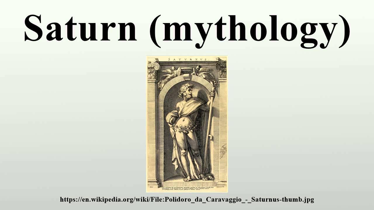 Saturn Mythology Youtube