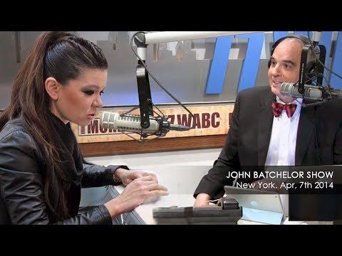 Ruslana at John Batchelor Show | News Talk Radio WABC New York, April 7th
