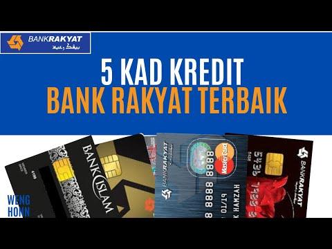 Top 5 Kad Kredit Bank Rakyat Terbaik Malaysia 2020 Youtube
