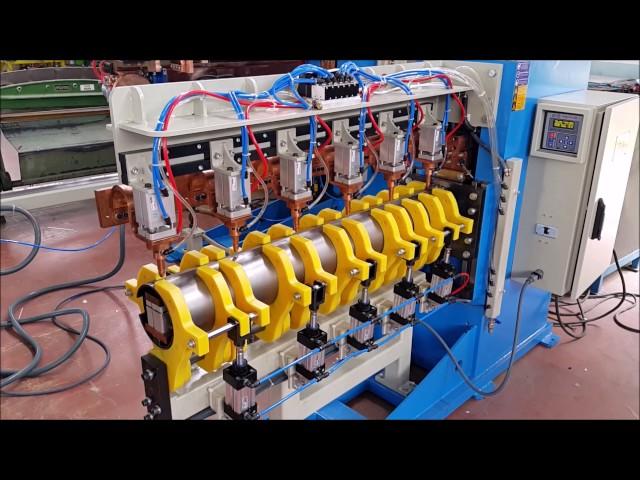 Sağlam Makina - İşe Özel Çok Pistonlu Boru Punta Kaynak Makinesi