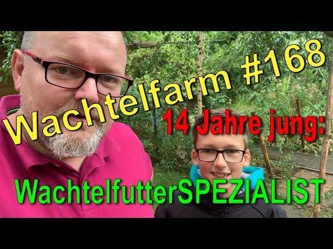 Zu Besuch bei Fabian - 14-jähriger WachtelfutterSPEZIALIST - Wachtelfarm #168