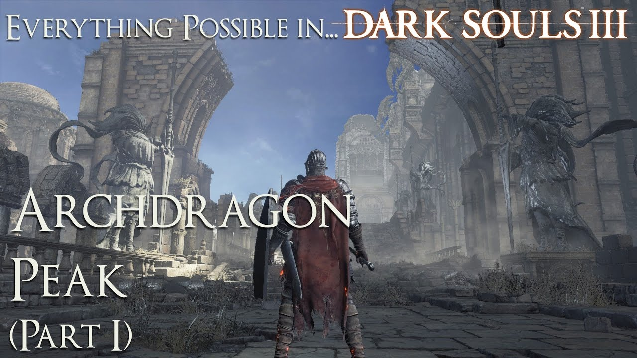 how to get to archdragon peak youtube