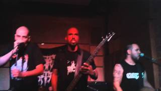 Mortal Hate ft Leandro Nunes - Osculum Obscenum (Cover Hypocrisy) @ Cidadão do Mundo [25-10-14]