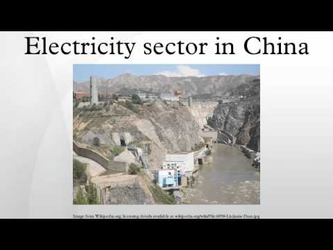 Electricity sector in China