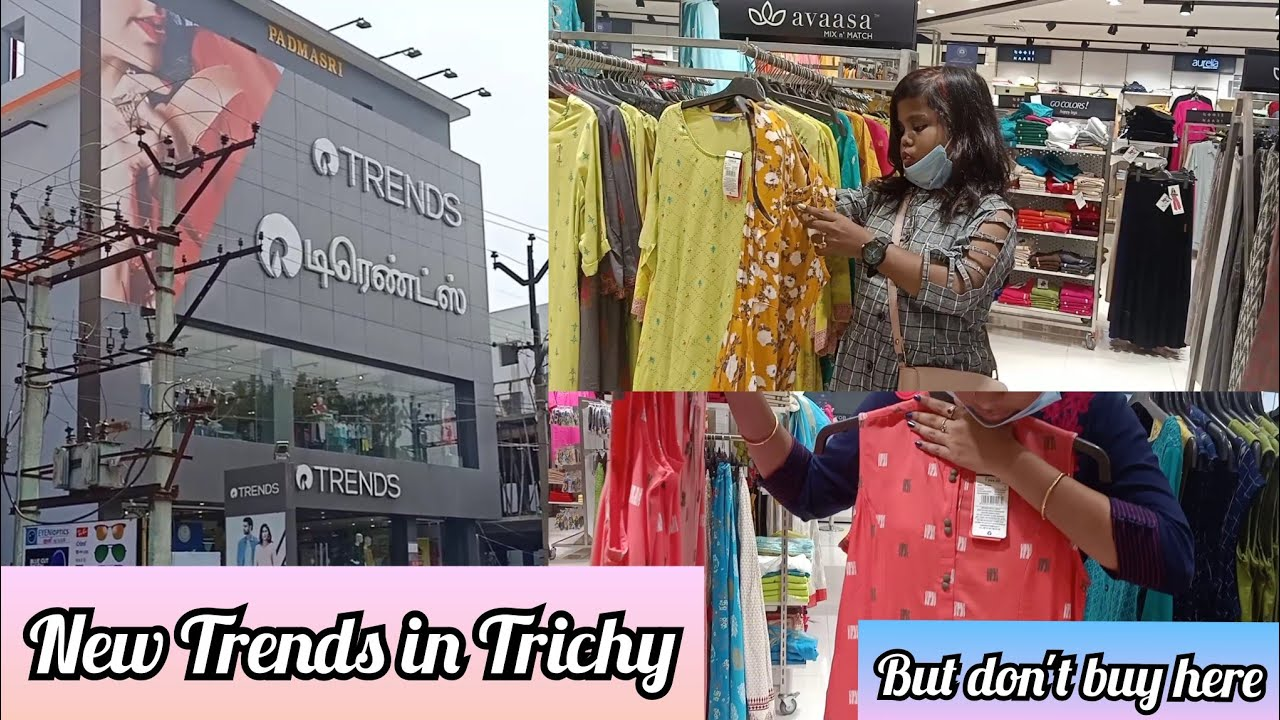 Download Trends shopping vlog | cheap rate kurtis, tops,dresses,skirt & plazzo| 70%-90% Ajio offer | Trichy