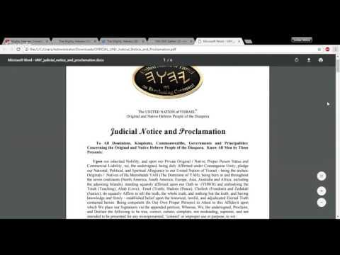 Rise Of Hebrew Y'Israelite Sovereign Nationalism