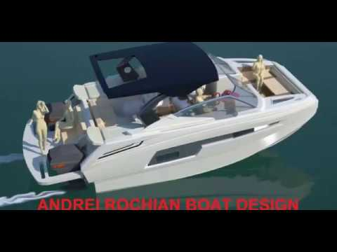 Andrei Rochian Sport Catamaran design  will be shown  at  the Macau  Yacht Show 2019
