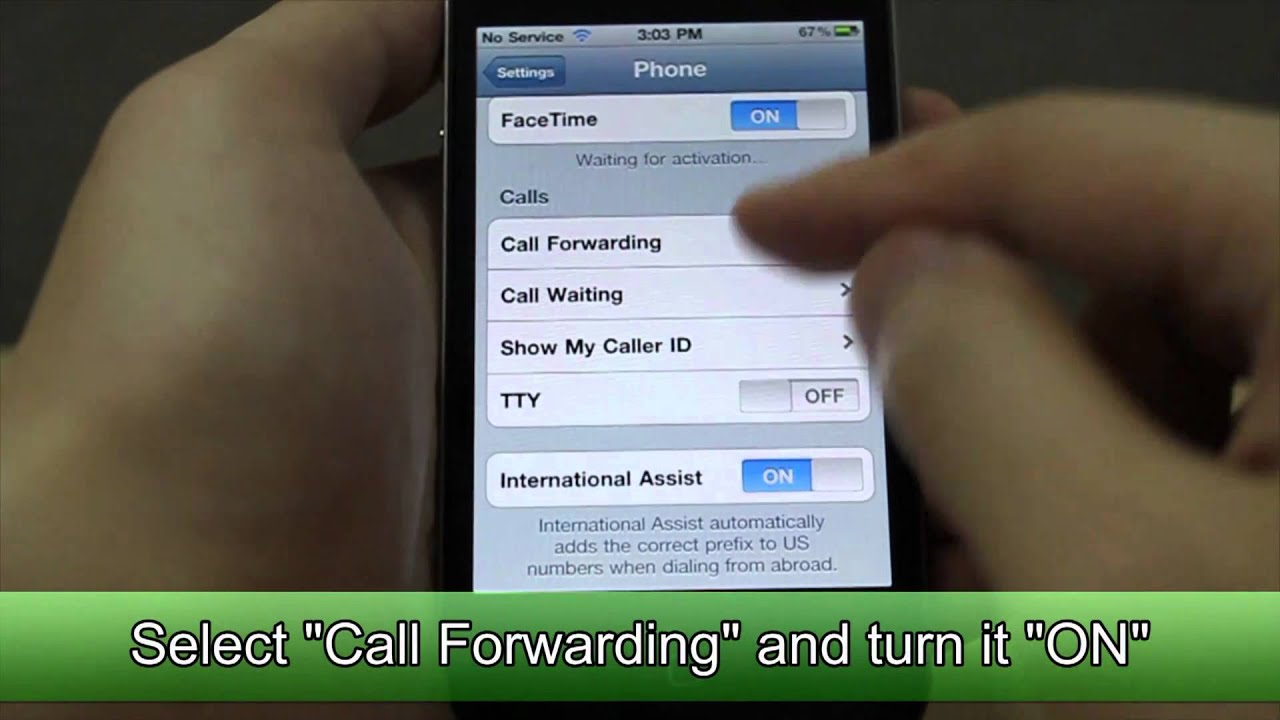 call forwarding on iphone how to set call forwarding on apple iphone 4 9972