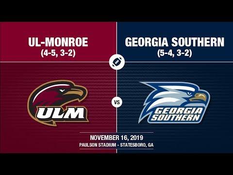 2019 Week 12 - UL-Monroe At Georgia Southern