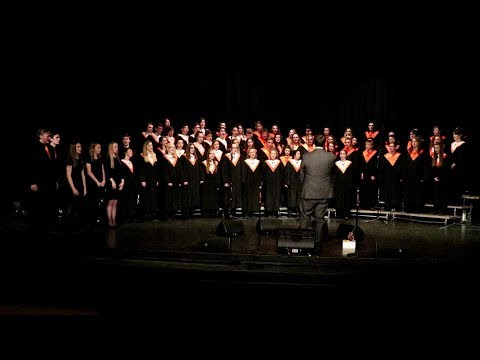 Monroe High School - Spring Choir Concert 3-21-18 -  Combined Choirs
