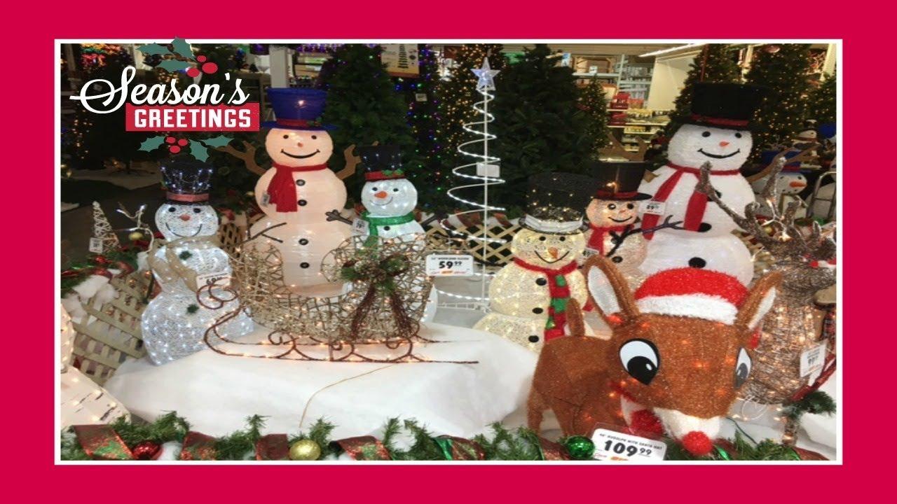 christmas decor shopping at menards pt 2 2017