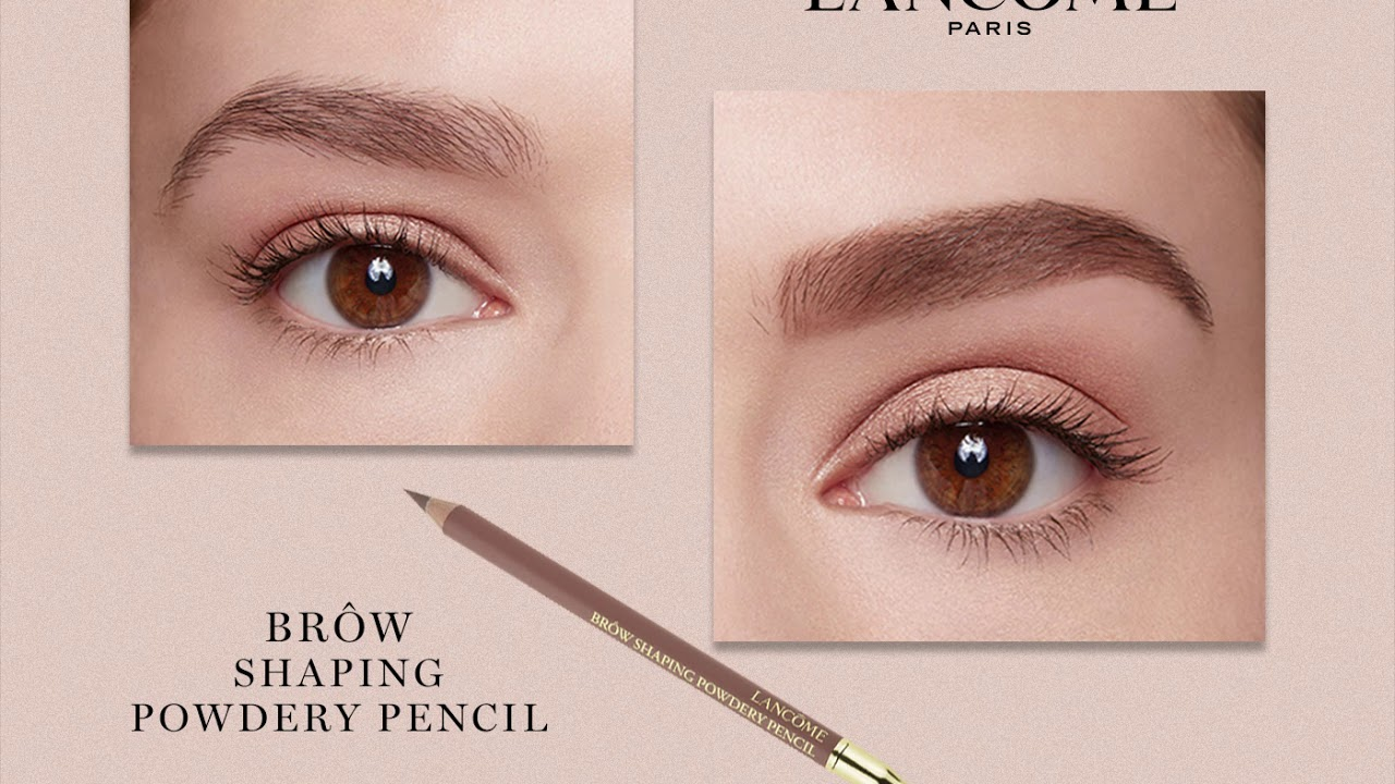 Brow Shaping Powdery Pencil - YouTube