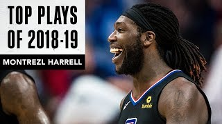 Montrezl Harrell's Top Plays of the 2018-19 Season | LA Clippers