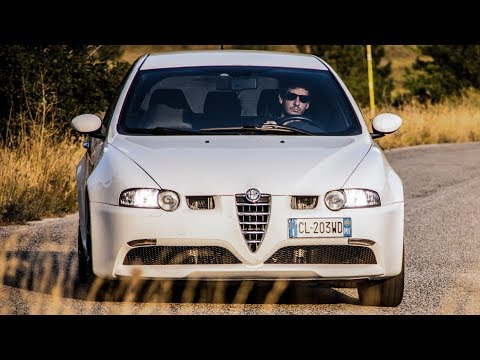 Pure Sound Alfa Romeo 147 GTA (SuperSprint exhaust) - Davide Cironi Drive Experience
