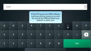 Mosaic pos offline mode -