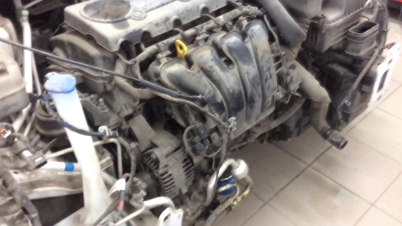Hyundai ix35 (хендай ix35)  сбил мотоциклиста обзор ремонта.