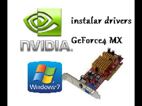driver nvidia geforce4 mx 4000