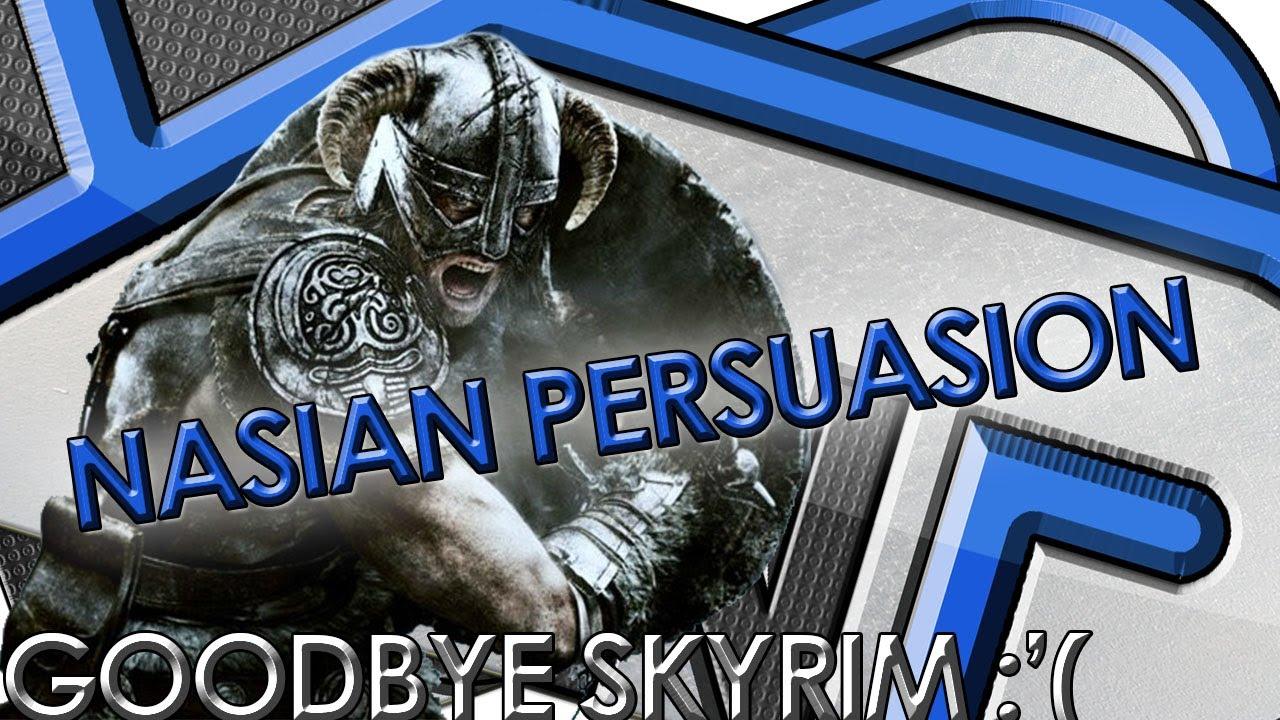Nasian Persuasion - Skyrim No More DLC's Discussion! Elder Scrolls 6  Redguard?