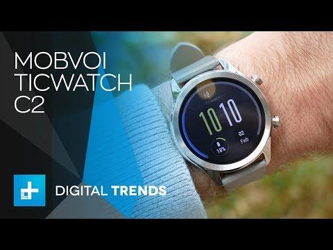 Hình ảnh thực tế của đồng hồ Ticwatch C2
