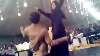 paki girl and boy dance on riva riva on wedding ceremony
