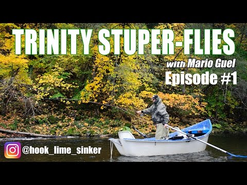 Trinty Stuper-Flies Episode #1 - Trinity River Fly Fishing and Moving to the Mountains