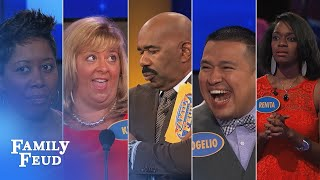Family Feud's FUNNIEST Steve Harvey moments!!! | Part 14