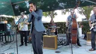 Aki Kumar Blues Band at San Carlos Hot Harvest Nights 5-2-13