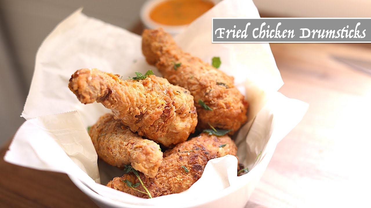 Fried Chicken Drumsticks Youtube