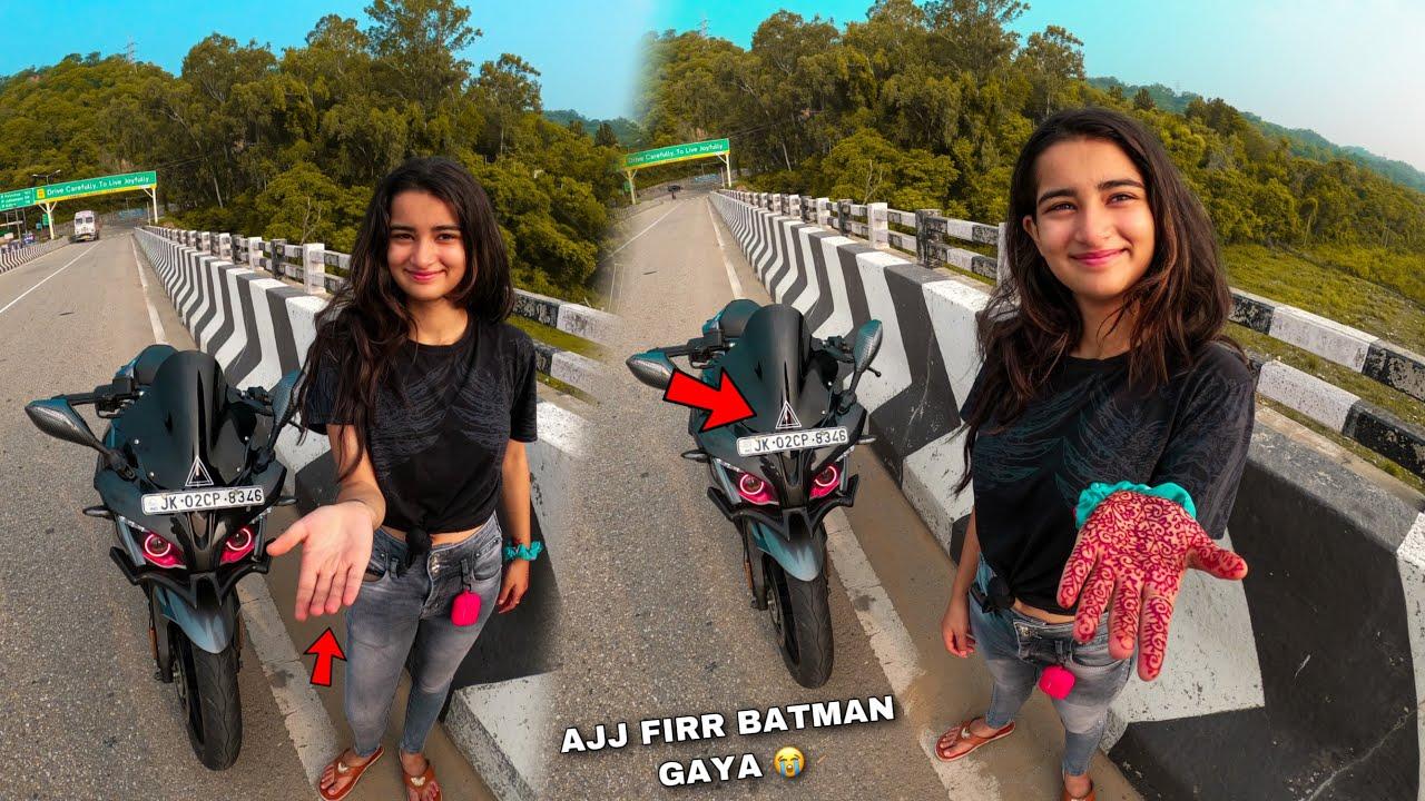 Aairya ko firr bike Chalani ha 🤣