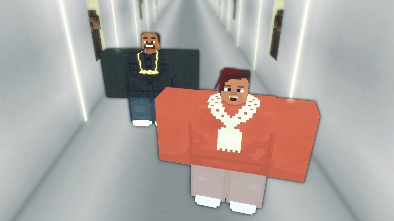 kanye west  u0026 lil pump - i love it  minecraft note block cover