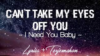 I Need You Baby   Joseph Vincent Can't Take My Eyes Off You Lirik+Terjemahan Cover Version