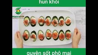 Cách làm món Cá hồi hun khói cùng sốt hạt Mắc ca ăn kiêng lowcarb