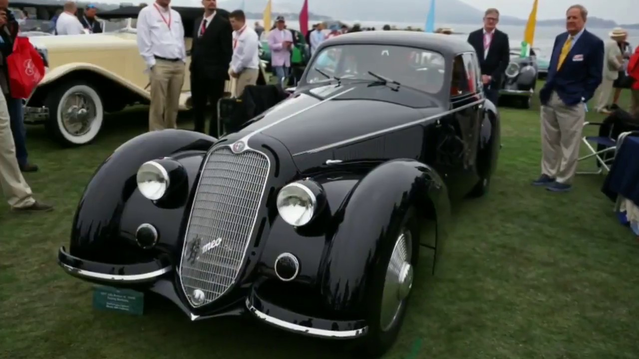 Best Of Show Winner At The Pebble Beach Concours Delegance - Pebble beach car show 2018