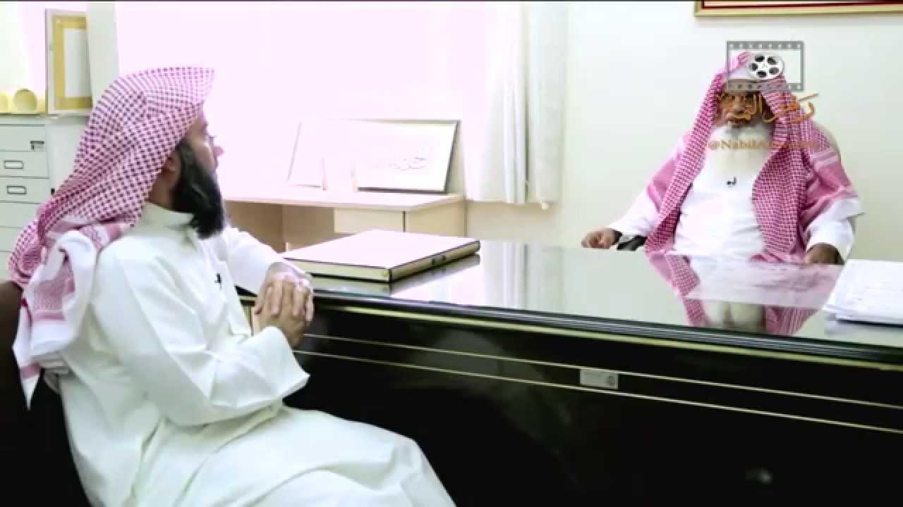 لقاء بين الشيخ نبيل العوضي والشيخ الحذيفي في مجمع الملك فهد لطباعة المصاحف