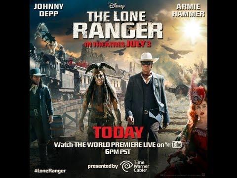 Disney's The Lone Ranger World Premiere Livestream