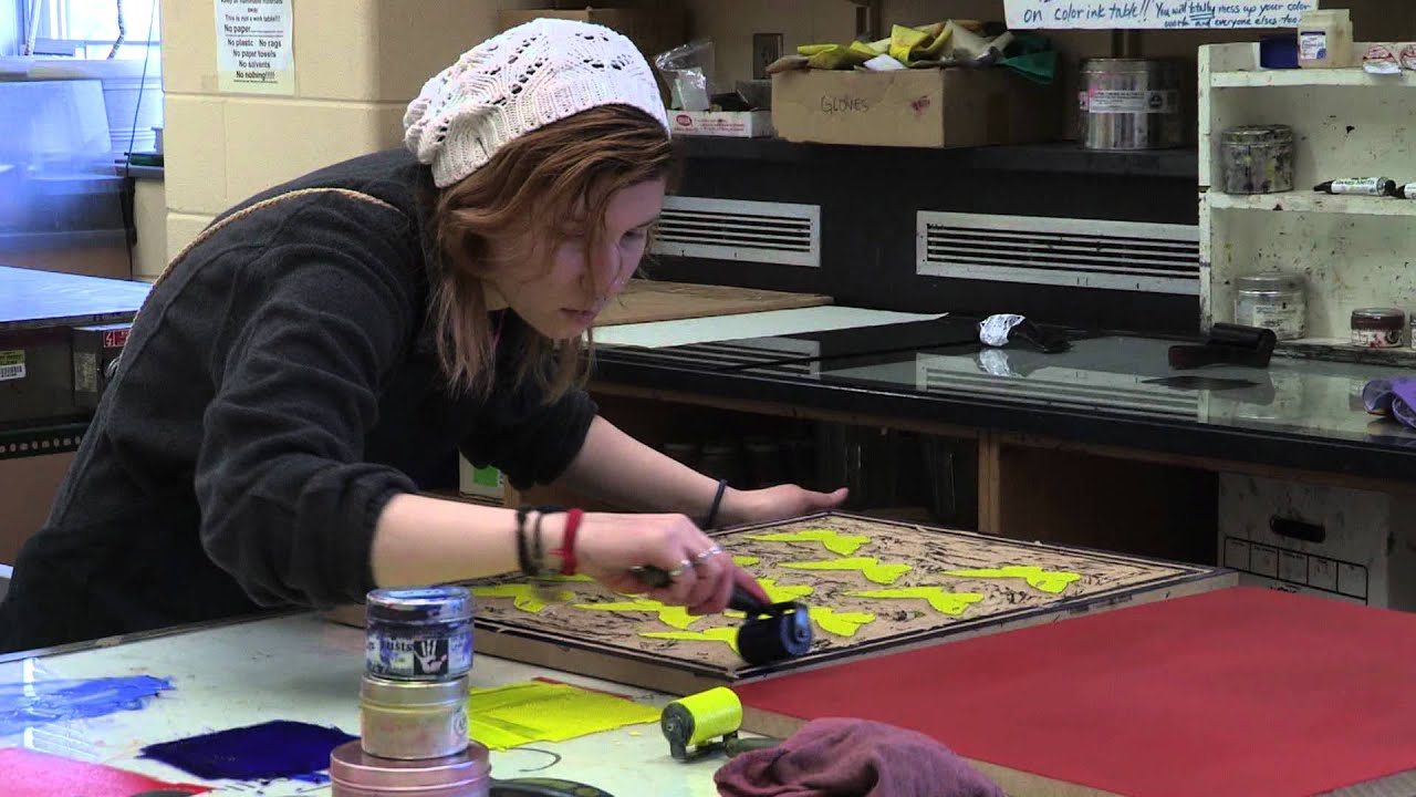 Color printing at purdue - Purdue University Printmaking