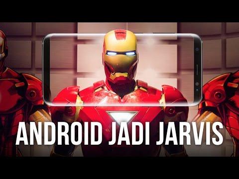 "Cara Buat Android Kamu Menjadi ""Jarvis"" Iron Man"